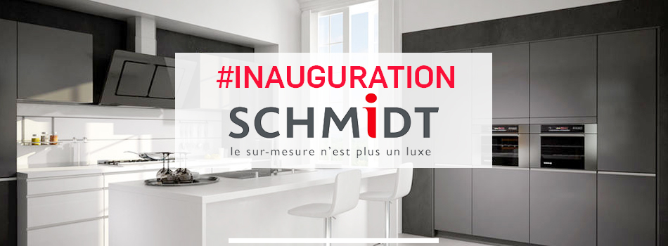 inauguration magasin cuisines schmidt thann alsace innov 39 events agence v nementielle. Black Bedroom Furniture Sets. Home Design Ideas