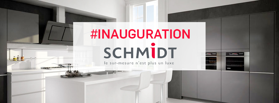 inauguration du magasin cuisines schmidt de thann en alsace. Black Bedroom Furniture Sets. Home Design Ideas