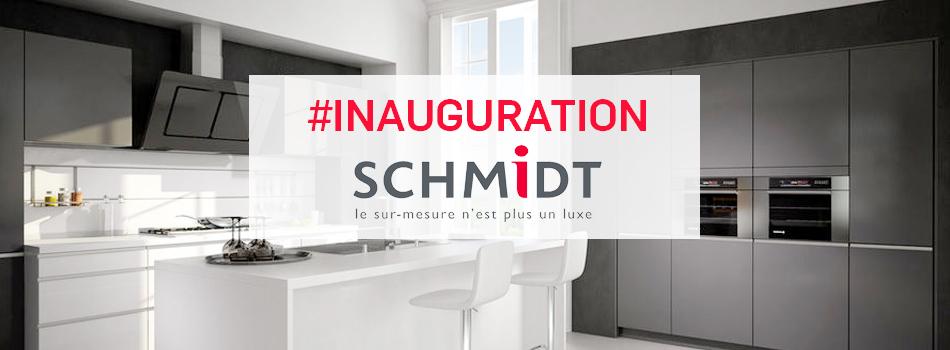 Inauguration du magasin cuisines schmidt de thann en alsace for Cuisine schmidt