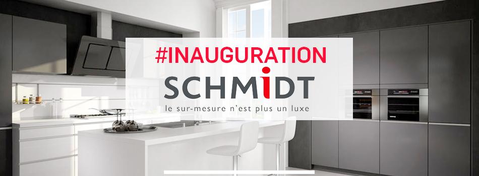 inauguration magasin cuisines schmidt thann alsace innov 39 events agence v nementielle. Black Bedroom Furniture Sets. Home Design Ideas