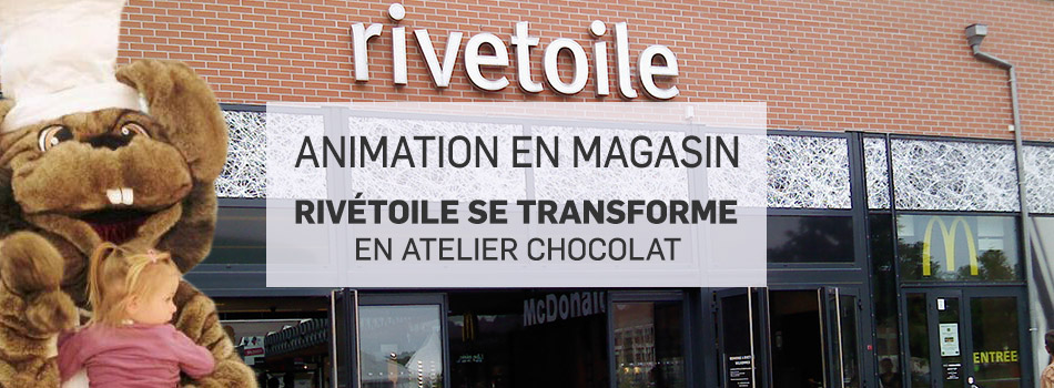 Animation en magasin riv toile se transforme en atelier - Centre commercial rivetoile ...