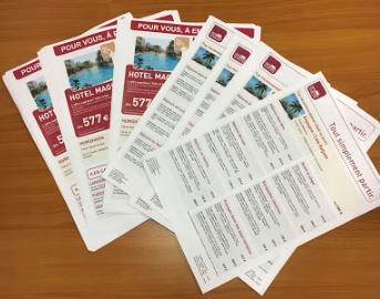hotesses pour distribution de tracts à Mulhouse