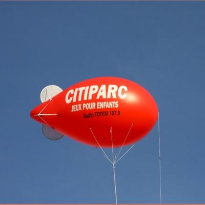 floquer un ballon géant