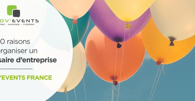pourquoi organiser un anniversaire d'entreprise