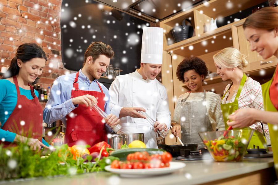 atelier culinaire pour arbres de noel lyon