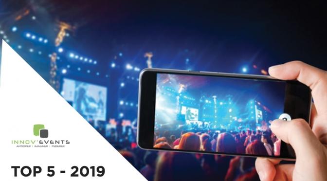 tendances evenementielle 2019