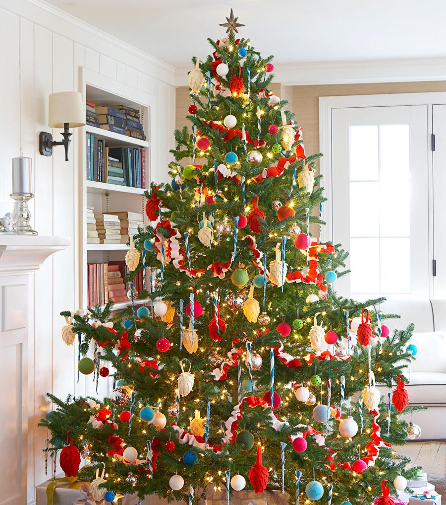 decoration arbre de noel entreprise