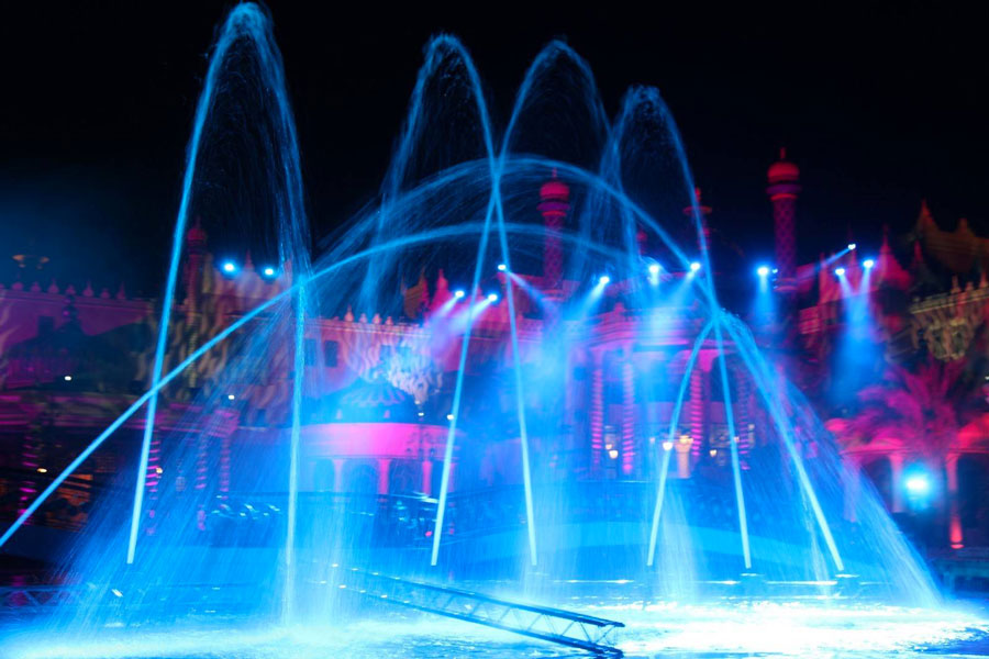 spectacle aquatique marseille