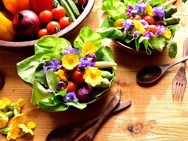 animation cuisine de fleurs séminaire entreprise