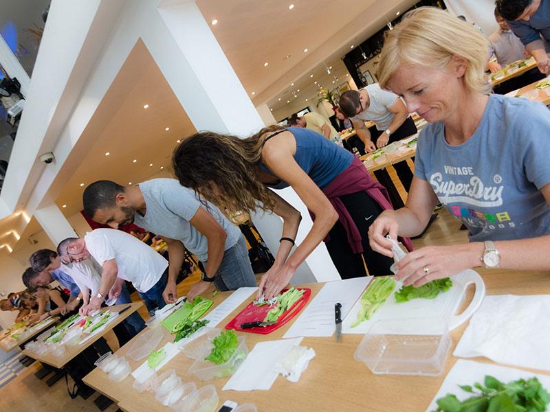 activités de team building atelier sushis
