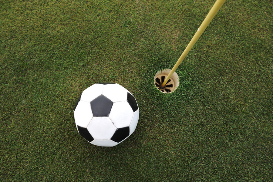 animation foot golf