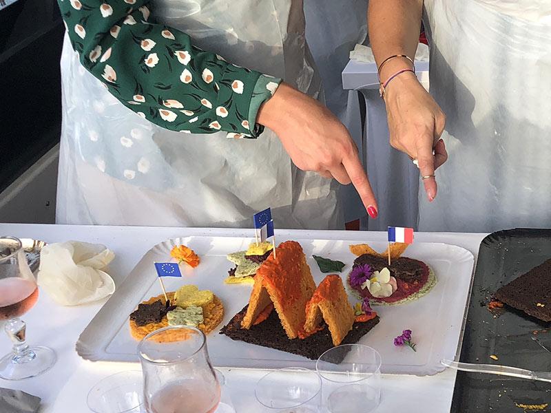 activité cuisine de fleurs séminaire team building entreprise