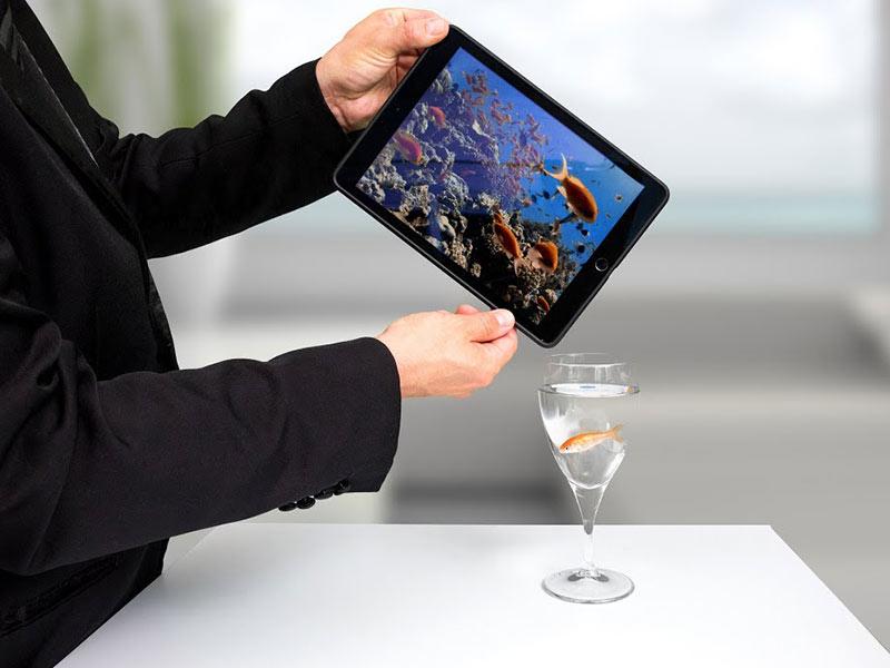 animer anniversaire fête entreprise magicien digitale insolite