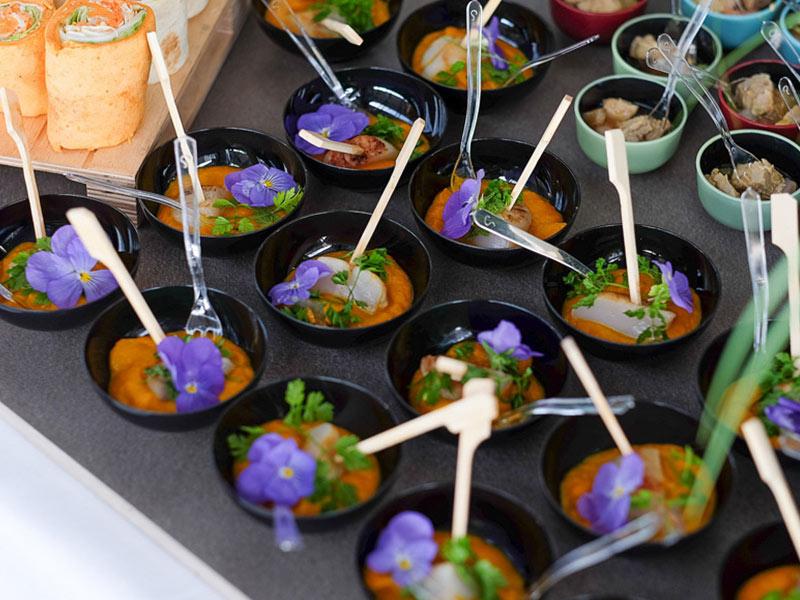 animation cuisine de fleurs séminaire fête Noël entreprise garden party team building