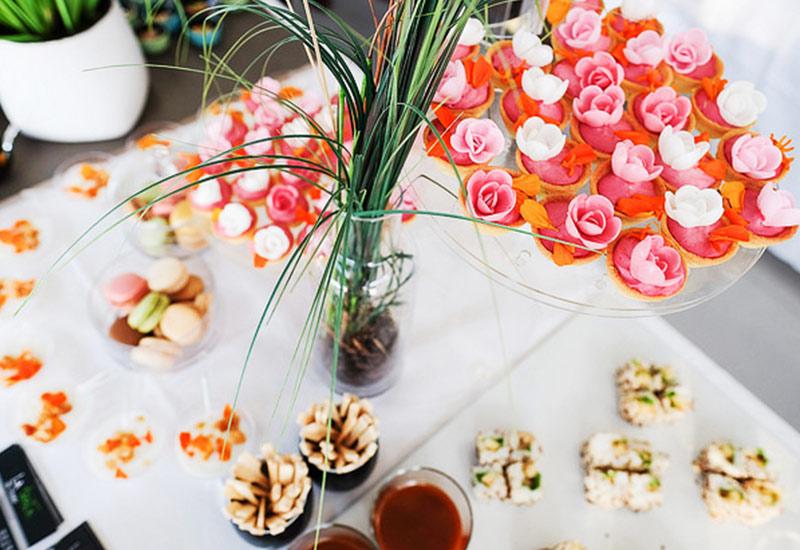 buffet traiteur mignardises cupcakes La Rochelle