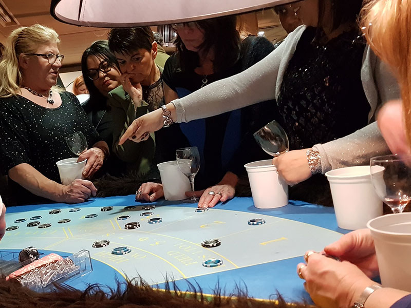 Animation casino des saveurs dégustation vin Garden Party