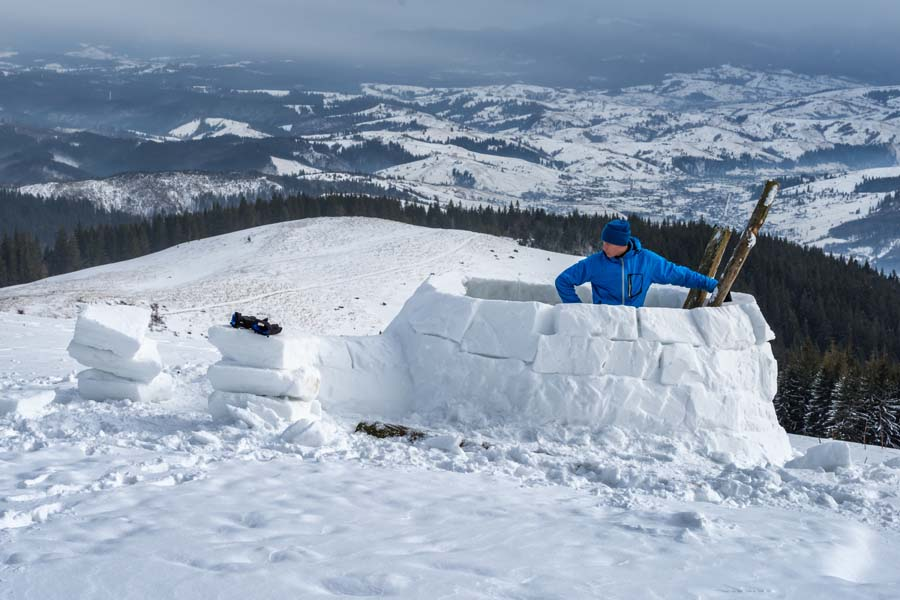 fabrication igloo