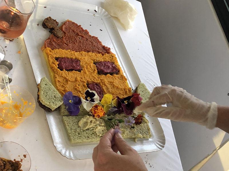 activités cuisine de fleurs séminaire team building garden party
