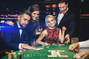 soiree casino sainté