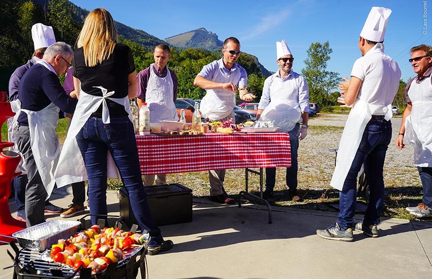 theme culinaire événement