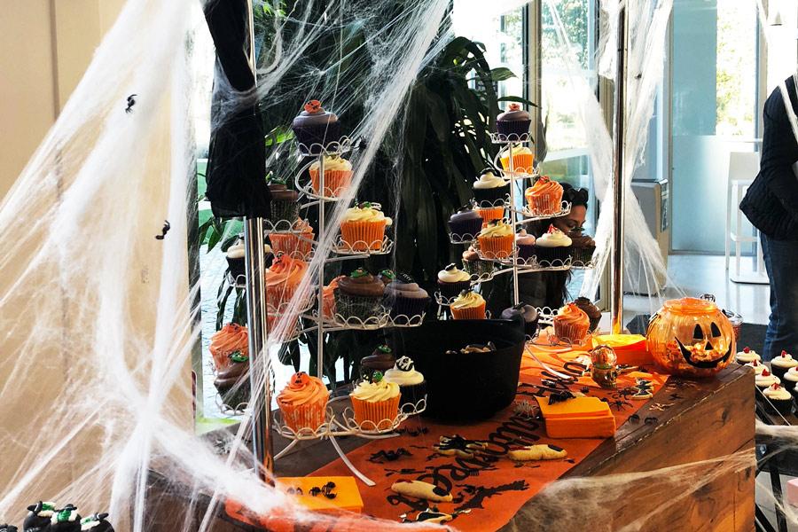 feter halloween au bureau