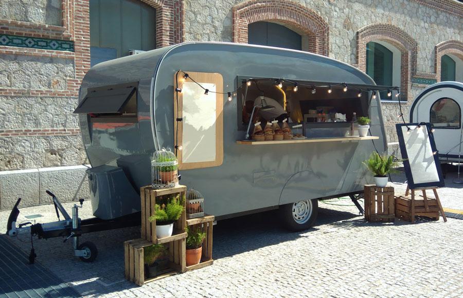 Foodtruck pour lancement automobile Pau