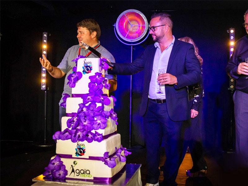 gâteau traiteur anniversaire entreprise action commerciale