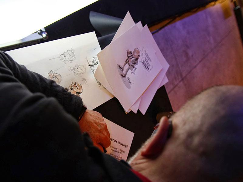 animation illustrateur de propos assemblée générale congrès conférence