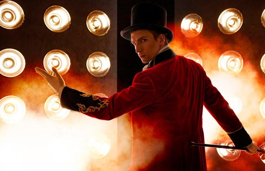 magicien show