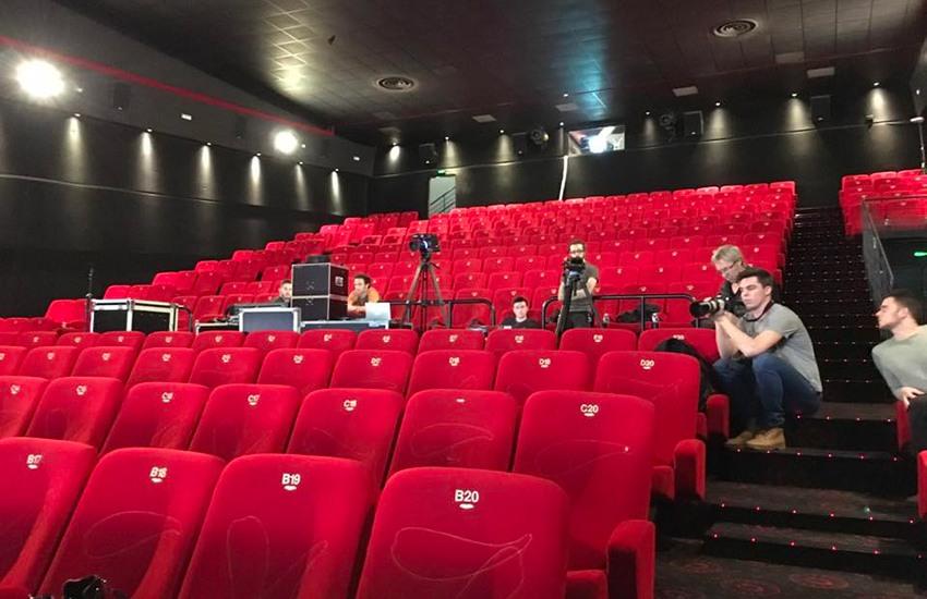 soirée cinéma en entreprise