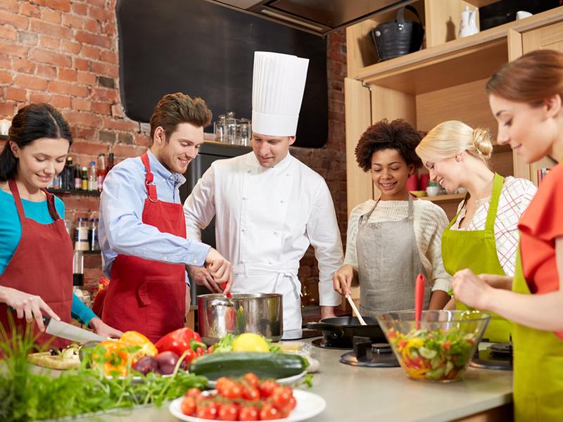 animation cours de cuisine top chef