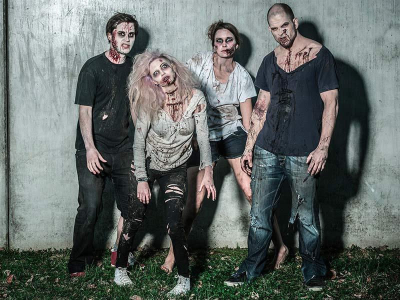 chasse au tresor zombie animation team building