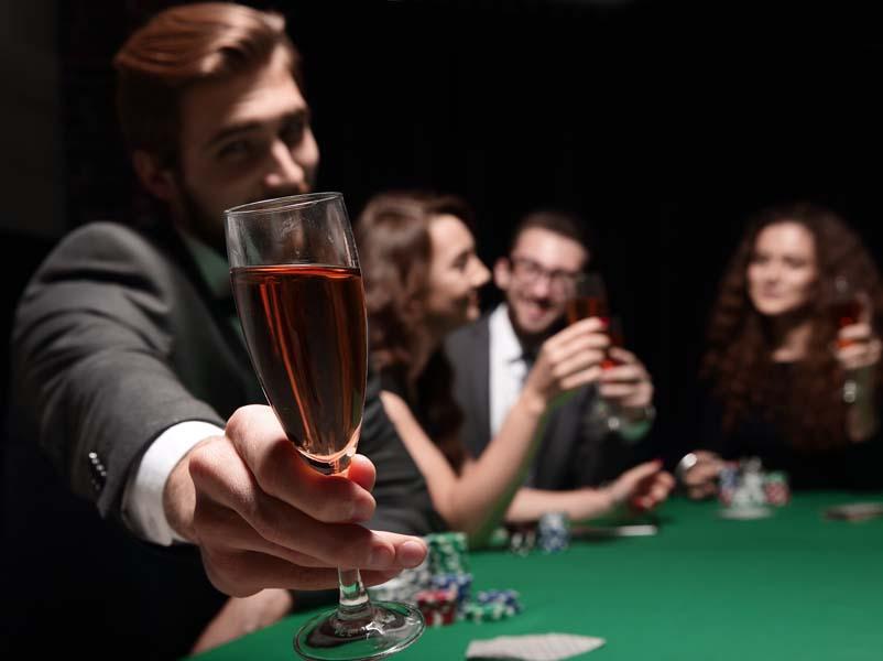 casino thème vin