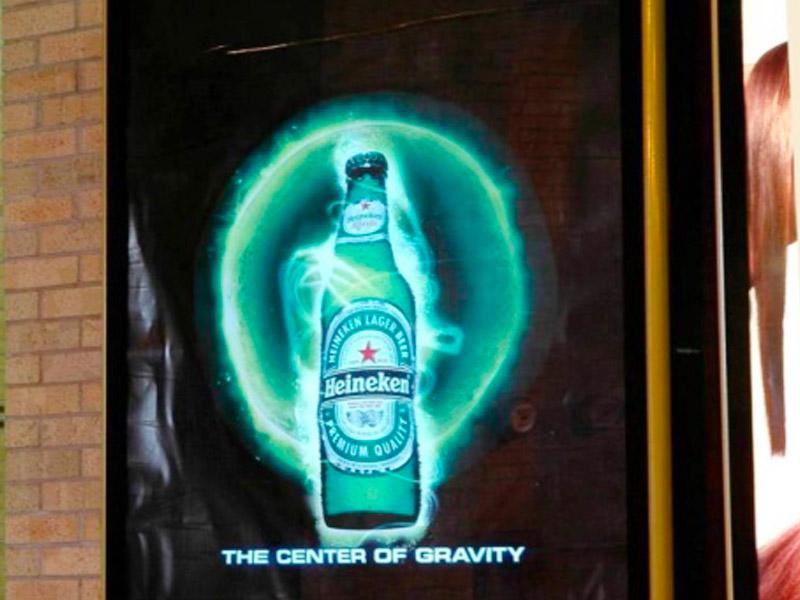 flocage affiche publicitaire fluo lumineux evenement nuit entreprise