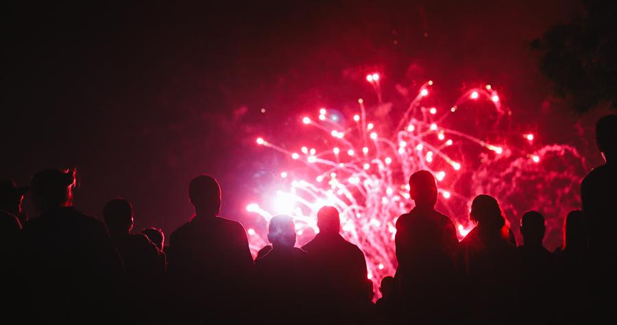 feu artifice evenement entreprise