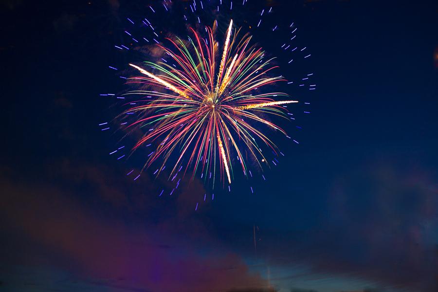 feu d artifice evenementiel