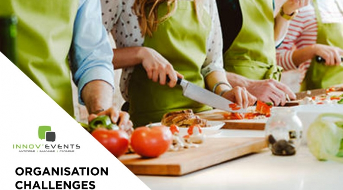 team building culinaire sainté