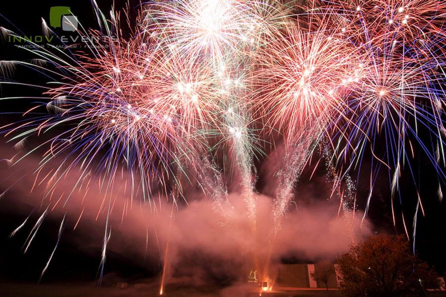 spectacle pyrotechnique pour evenement pro