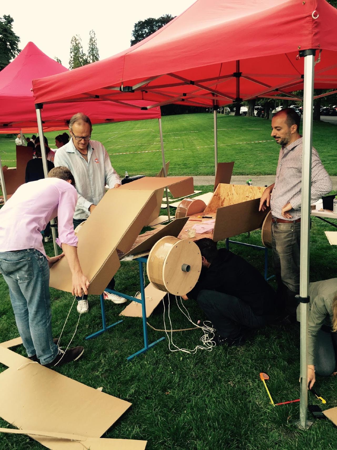 team building ludique construction formule 1