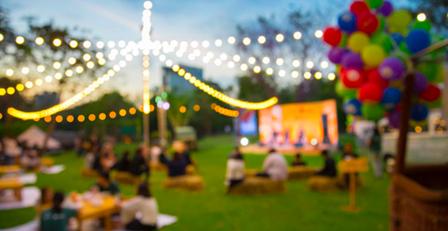 Organisation garden party annecy lac