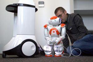 animation robot ceremonie des voeux marseille 13