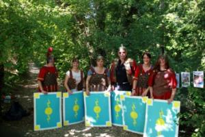animation chasse aux romains lyon 69 rhone