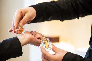 création parfum entreprise