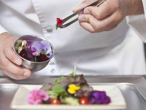 atelier cuisine fleurs