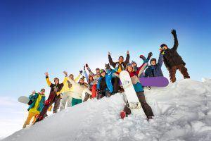 team building ski