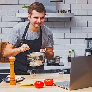 cours de cuisine à distance