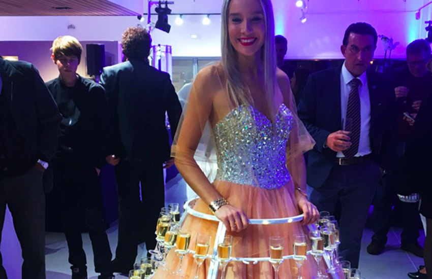 location robe à champagne